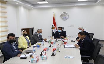 «عبد الغفار» يبحث مع رئيس التنسيق الحضاري وضع الهوية البصرية للمحافظات
