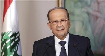 الرئيس اللبنانى يؤكد ضرورة الإسراع فى تحقيقات أحداث بيروت