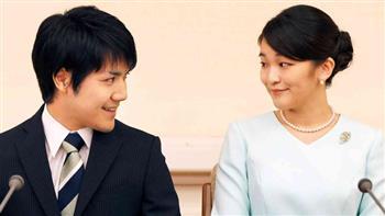 وكالة الأنباء اليابانية: خطيب الأميرة ماكو يزور والديها قبل زفافهما