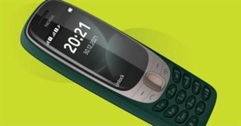نوكيا تعيد إصدار هاتف 6310 الكلاسيكي بلعبة brick والثعبان
