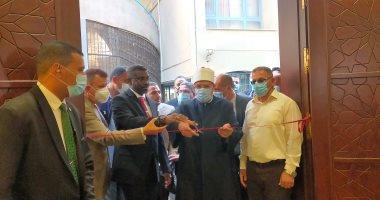 وزير الأوقاف ونظيره السودانى يشهدان افتتاح مسجد جامعة عين شمس
