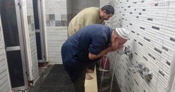 فتح دورات المياه فى المساجد بعد غلقها منذ بداية أزمة كورونا