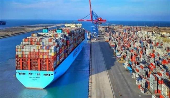 22 سفينة إجمالى الحركة الملاحية بموانئ بورسعيد