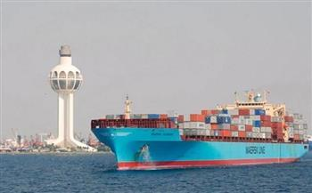تداول 28 سفينة للحاويات والبضائع العامة بموانىء دمياط