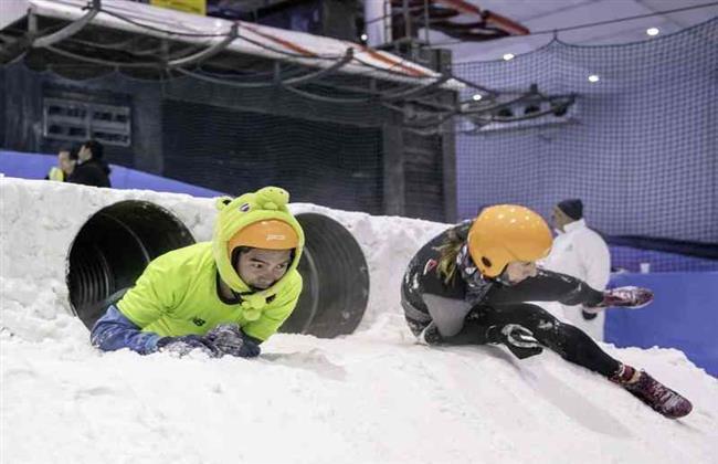 ليتوانى ينجح فى تحقيق الأرقام القياسية فى تحدى الجليد