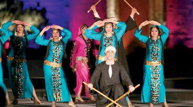 قبة الغوري تستضيف عرضا جديدا لفرقة رضا للفنون الشعبية