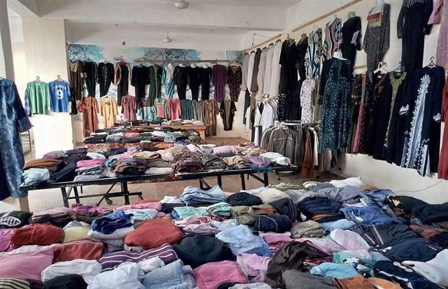 معرض ملابس بالمجان فى المنيا