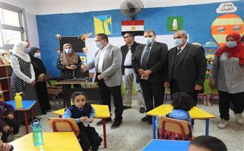 محافظ المنوفية يفتتح مدرسة إبتدائية بتكلفة إجمالية 5 ملايين جنيه