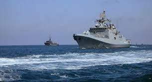 البحرية الروسية تنقذ سفينة حاويات بنمية تعرضت لعملية قرصنة بخليج غينيا