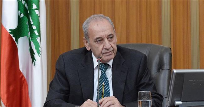 رئيس مجلس النواب اللبناني يبحث مع البطريرك الماروني الوضع الراهن