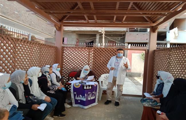 صحة الدقهلية: الكشف على ٧٩٠ مريض بقافلة قرية أبو النور