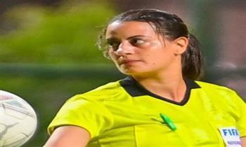 شاهنده المغربي: عندى حلم انى احكم كرة قدم للرجال