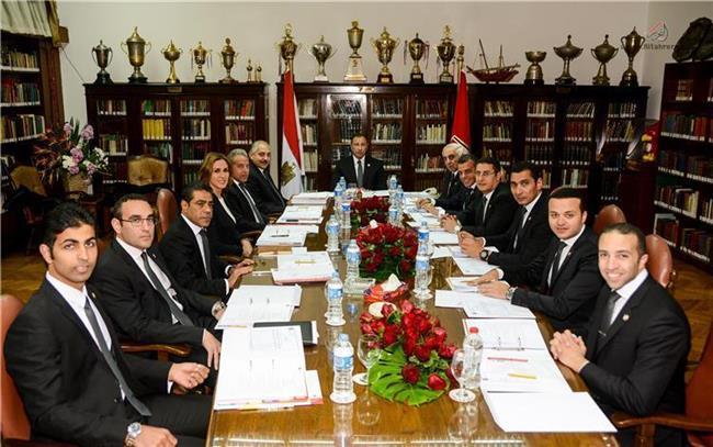 مجلس الإدارة الاهلي يعتمد قائمة المرشحين في انتخابات