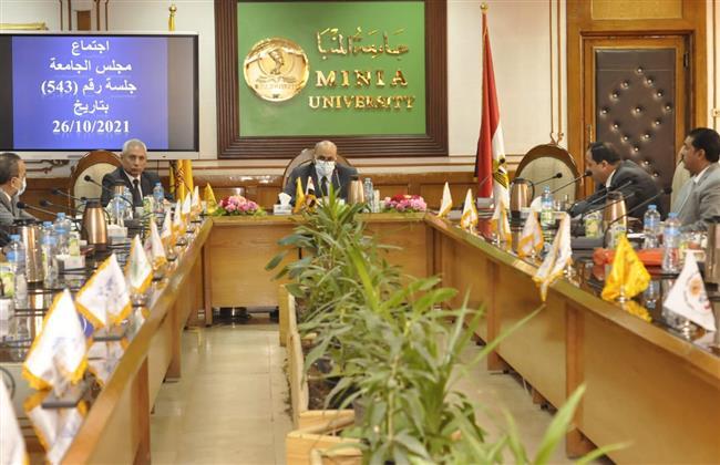 جامعة المنيا: عدم السماح لغير الحاصلين على التطعيم من دخول الحرم الجامعي