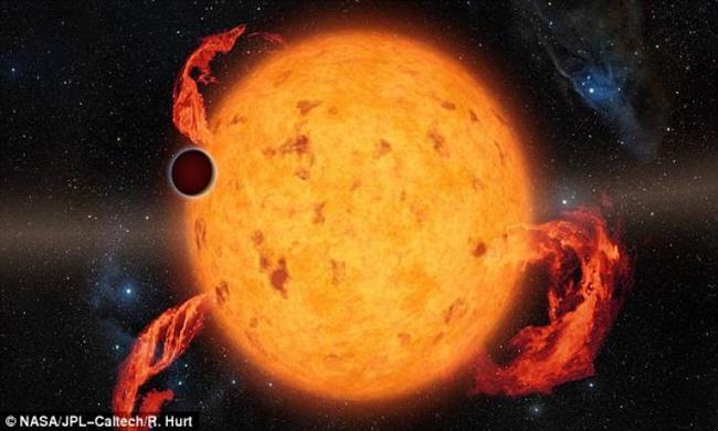 اكتشاف أصغر الكواكب سنا على الإطلاق
