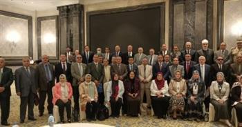 أعضاء مجلس جامعة الأزهر يتوافدون على العاصمة الإدارية الجديدة