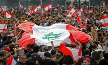 مظاهرات مؤيدة لرئيس حزب القوات اللبنانية