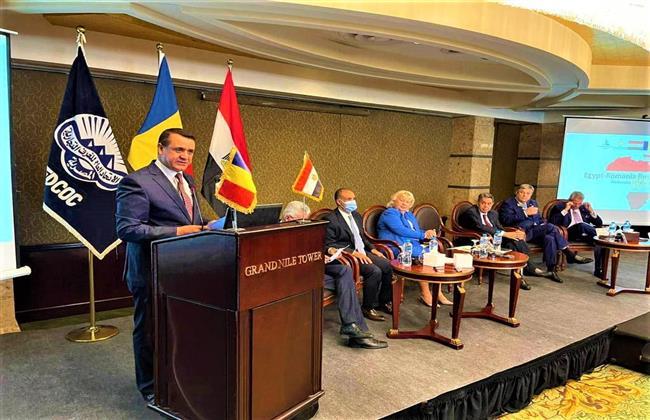 نيفين جامع: فرص واعدة لتعزيز التعاون الاقتصادي والتجاري بين مصر ورومانيا
