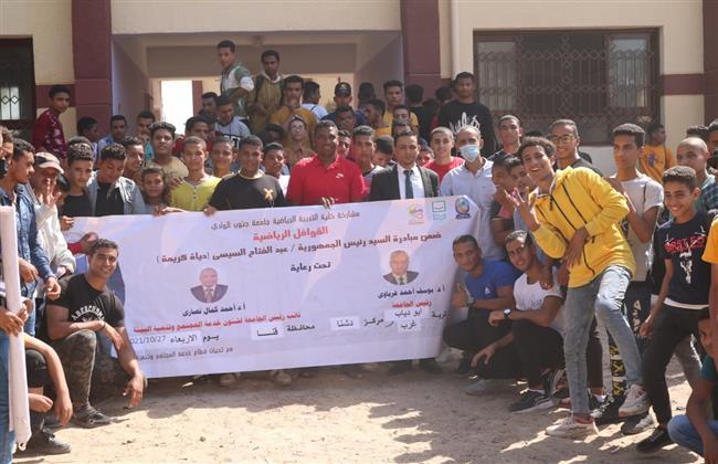 قافلة طبية متعددة التخصصات لجامعة جنوب الوادي لقرية  ابو دياب غرب بمركز دشنا