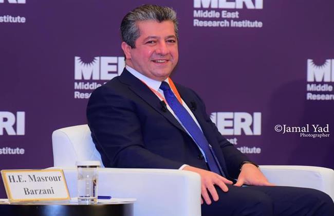 مسرور بارزاني في ملتقى الشرق الأوسط: ننتظر تطبيق اتفاق سنجار