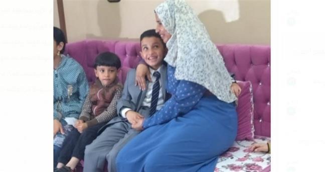 ننفرد بنشر الصور الأولي لـ الطفل أحمد تامر من منزله