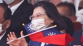 رئيسة تايوان تعترف  بوجود قوات أمريكية على أراضي الجزيرة
