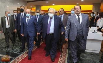 نقيب المحامين يستقبل وزير العدل لحضور احتفالية يوم المحاماة
