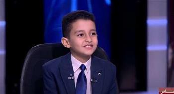 «دار المعارف» فى بث مباشر من منزل أحمد تامر حافظ القرآن الذى دعا له الرئيس