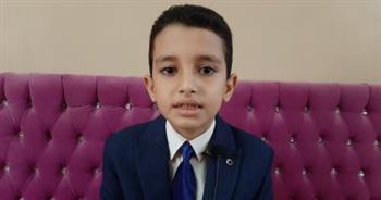 الطفل أحمد تامر لـ «دار المعارف»: أتمنى أن أكون شيخا للأزهر.. فيديو