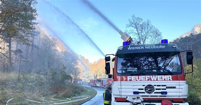 وزير الداخلية النمساوي: وضع حرائق الغابات مقلق للغاية