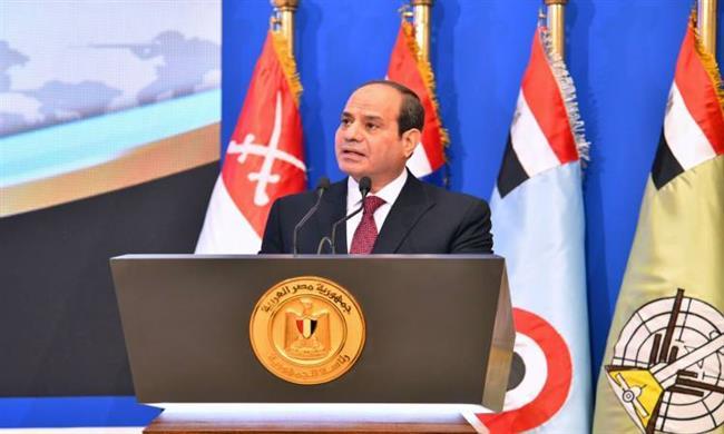 نص كلمة الرئيس السيسى فى الندوة التثقيفية بمناسبة انتصارات أكتوبر