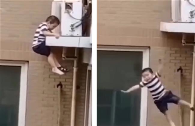 سقوط طفل من شرفة منزله فى أسيوط