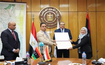 سعفان يبحث مع وزير العمل الليبي تنظيم وتسهيل تنقل الأيدي العاملة بين البلدين