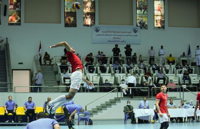 الأهلي يتخطي الاتحاد ويتأهل لنهائي كأس مصر للكرة الطائرة