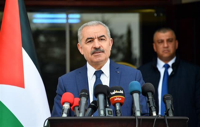 رئيس الوزراء الفلسطينى: نريد إنعاش الاقتصاد والعودة إلى خططنا التنموية