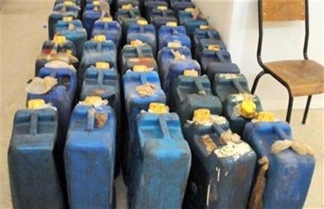 ضبط ٣٠٠٠ لتر سولار قبل طرحها في السوق السوداء بالإسكندرية