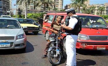 حملات مشدده لرصد مخالفى قواعد المرور