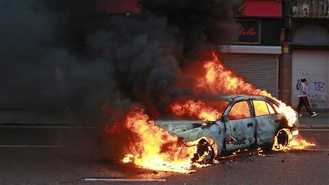 حقيقة انفجار سيارة نقل داخل محطة وقود بالمنوفية