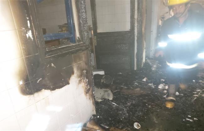 حريق يلتهم شركة أدوية ومستلزمات طبية بأسيوط