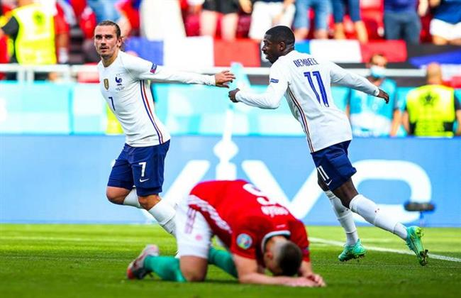 نتيجة مباراة فرنسا والمجر  في يورو 2020