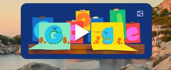 جوجل يحتفل بـ عيد الأب ويغير شعاره