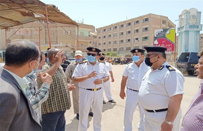 إزالة 400 حالة تعدٍ وإشغالات من شوارع الفشن