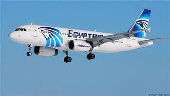 مصرللطيران تسير غدا ٥٥ رحلة جوية