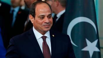 السيسي يشدد على دعم مصر الكامل للمجلس الرئاسي وحكومة الوحدة الوطنية الليبية