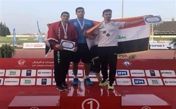 إيهاب عبدالرحمن يهدي مصر الميدالية الذهبية في رمي الرمح بالبطولة العربية