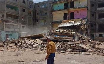 محافظ بورسعيد: بدء إزالة العمارات الآيلة للسقوط بمنطقة السيد متولى