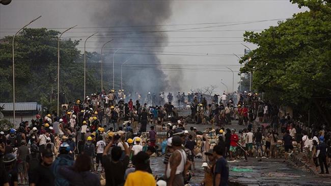 6 قتلى في مواجهات بين معارضين للمجلس العسكرى وقوات الأمن في ميانمار