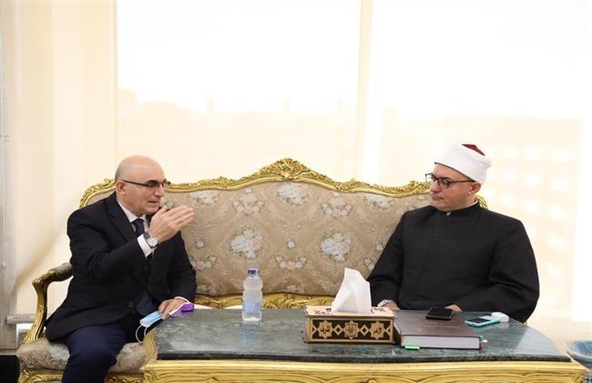 أمين البحوث الإسلامية يبحث التعاون العلمى المشترك مع سفير أوزباكستان