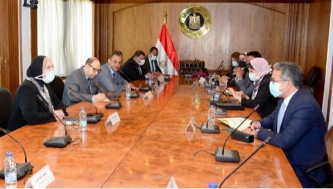 وزيرة التجارة: تقديم مصر في «إكسبو دبي 2020» كوجهة استثمارية رائجة بالمنطقة