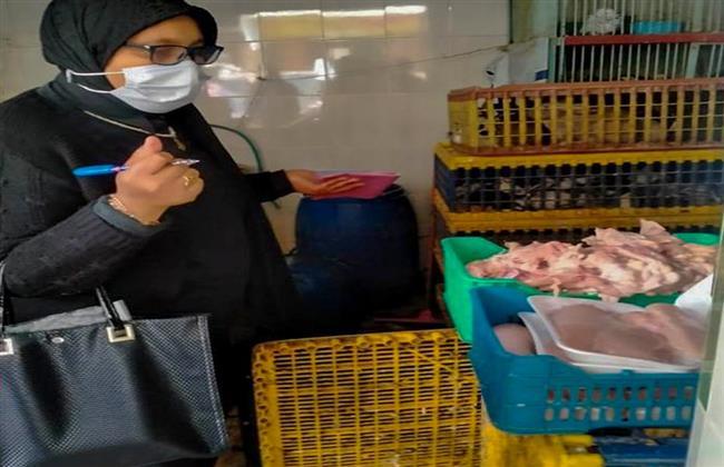 ضبط 410 كجم منتجات غير صالحة للإستهلاك الآدمي بالإسكندرية